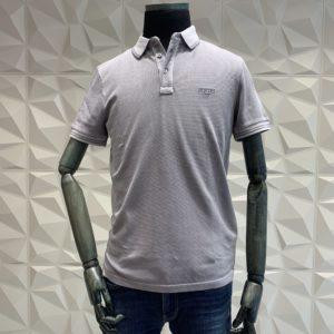 JOOP! Polo Shirt strukturiert grau